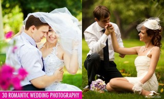 30 Most Beautiful Romantic Wedding Photography examples for your inspiration