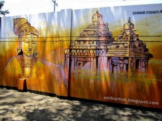 25 Wall painting works from chennai Tamil nadu artist