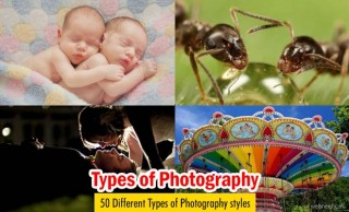 50 Different Types of Photography Styles with examples for your inspiration