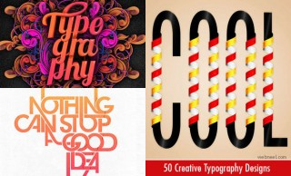 25 Creative Typography Design examples and ideas for you