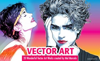 20 Wonderful Vector Art works created by Mel Marcelo