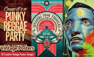 30 Creative Vintage Posters Design examples from around the world