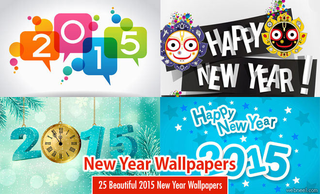 25 Beautiful 2015 New Year Wallpapers for your desktop