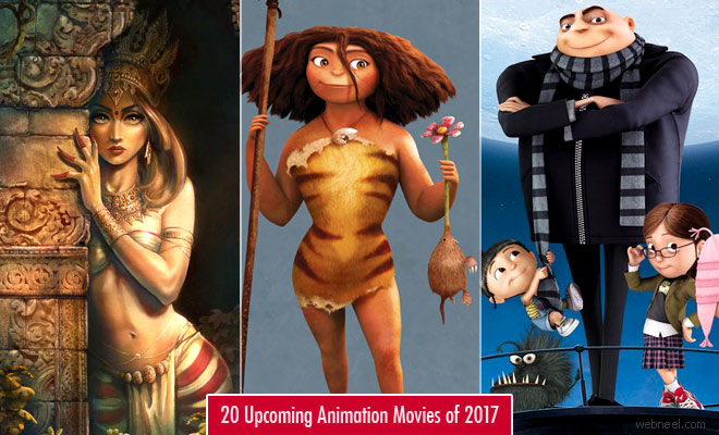 20 Upcoming Animation Movies of 2017 - 3D Animated Movie List
