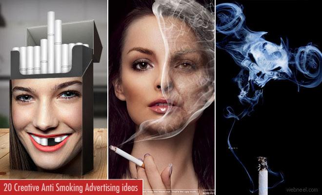 20 Creative Anti Smoking Advertising ideas and print Advertisements