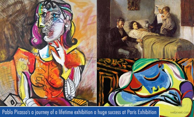 Pablo Picassos a journey of a lifetime exhibition a huge success at Paris