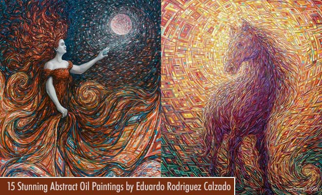 15 Stunning Abstract Oil Paintings by Eduardo Rodriguez Calzado