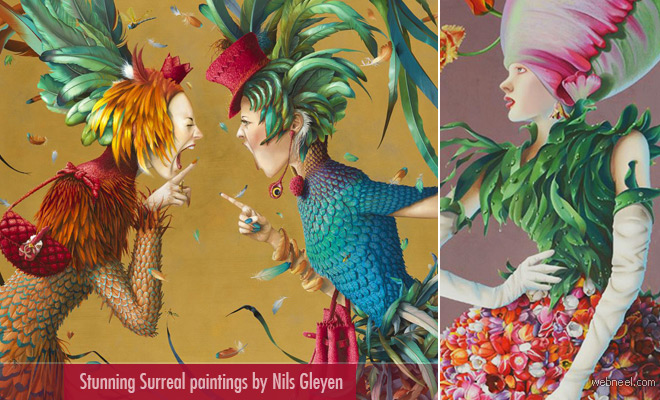 20 Creative and Stunning Surreal Paintings by Nils Gleyen