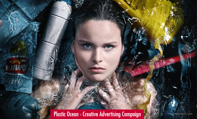 Plastic Ocean - Creative Advertising Campaign design Ideas by Staudinger