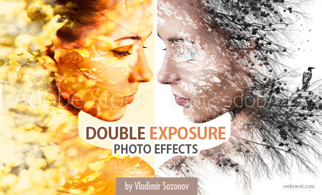 30 Mesmerising Play with Nature Double Exposure Photography Effect by Vladimir Sazonov