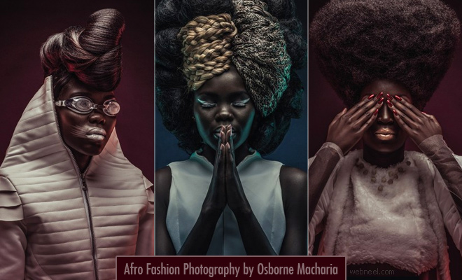 Revolutionary Afro Portrait Photography by famous Kenyan photographer Osborne Macharia