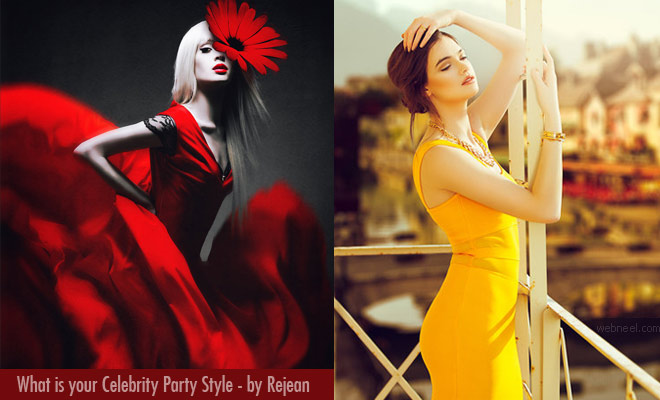What is your celebrity Party Style - Fashion Photography by Rejean Brandt