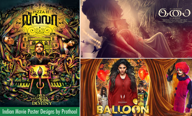 20 Creative Indian Movie Poster Designs by Prathool - Kollywood Posters