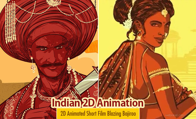Indian 2D Animation Short Film Blazing Bajirao