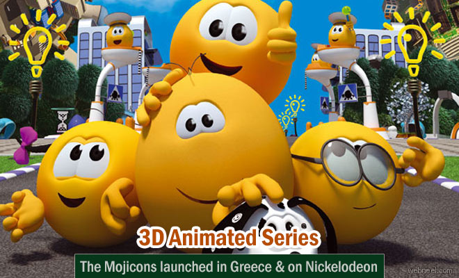 The Mojicons - Funny and Adventurous 3D Animated series launched in Greece and available on Nickelodeon