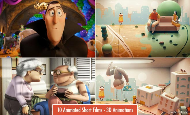 10 Beautiful 3D Animated Short films - Penny Arcade Music Video for Jane Bordeaux's 'Ma'agalim