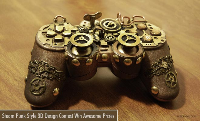 New Steampunk 3D Model Design Contest Awaits you in February 2018
