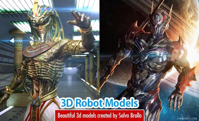 3D Robot Models