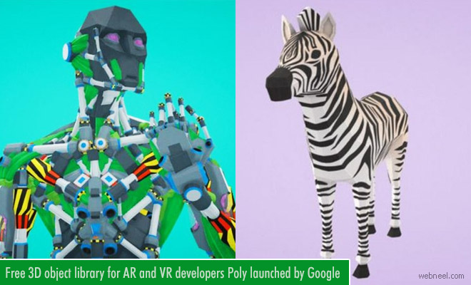 Free 3D Models and Objects for AR and VR developers - Google Library