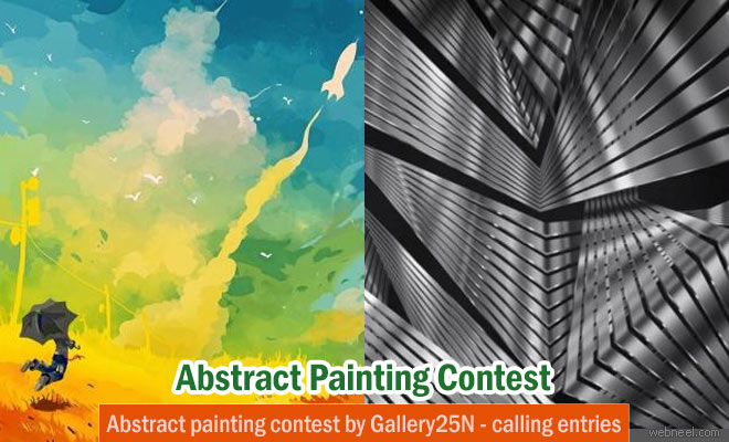 Abstract Painting Competition by Gallery25N - Calling for Entries