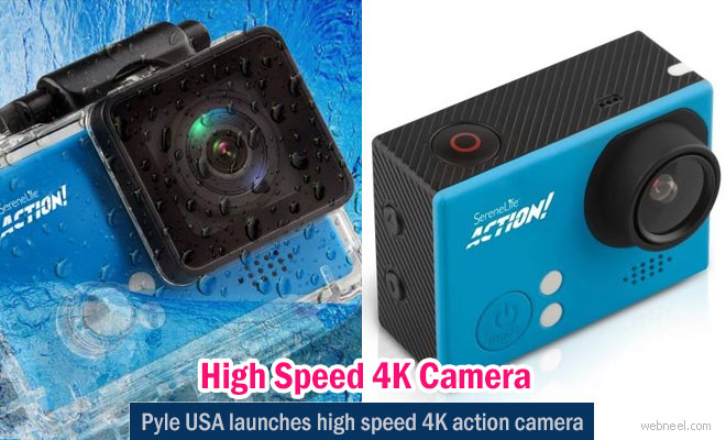 Affordable High Speed 4k HD Action Camera from Pyle USA - Digital Camera Reviews