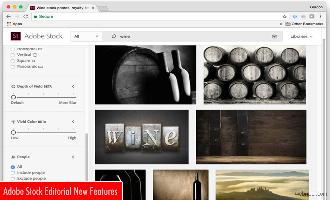 New Features unlocked in Adobe Stock making Photo search easy