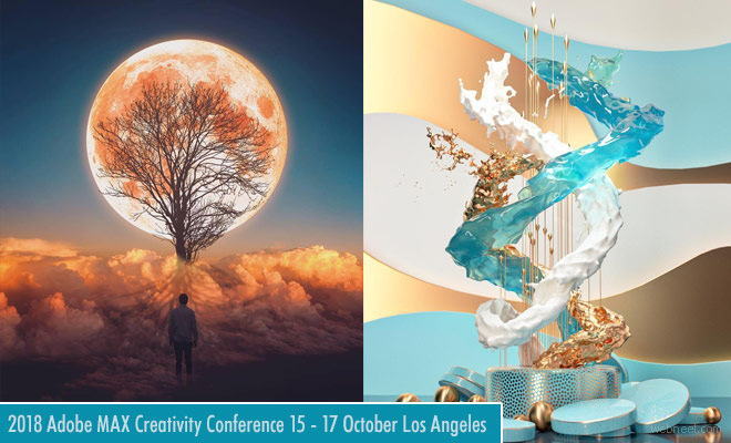 2018 Adobe MAX Creativity Conference - 15 to 17 October in Los Angeles