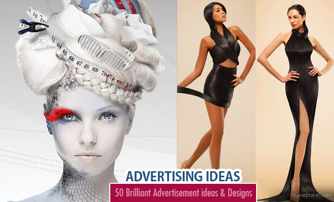 50 Creative and Brilliant Advertisement Design examples - Advertising Ideas