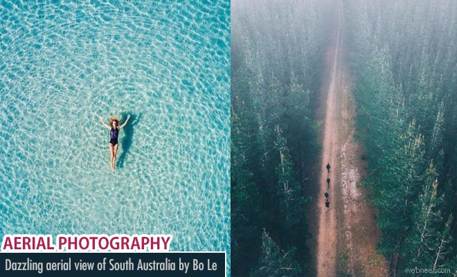Dazzling Aerial view of South Australia lively through Bo Les drone photography