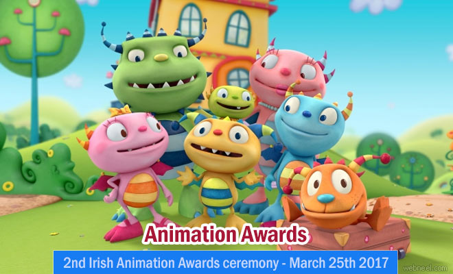 Irish Animation Festival and Awards - March 25 2017 at  Kerry Ireland