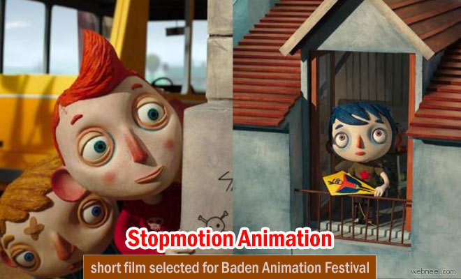 My Life as a Courgette - 3D Stop Motion Animation film selected for the opening ceremony of Baden Animation Festival