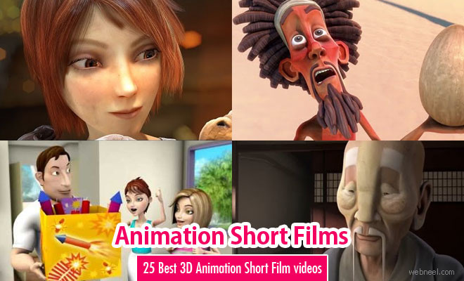 25 Best 3D Animation Short Film videos around the world for your inspiration