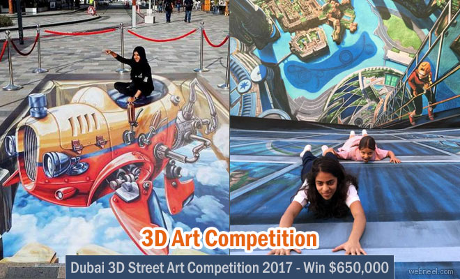 Dubai 3D Art Competition 2017 - Win $650,000