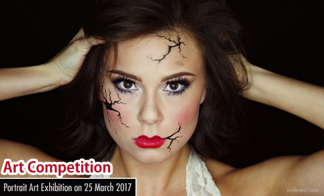 Portrait Art Competition and Exhibition on 25 March 2017