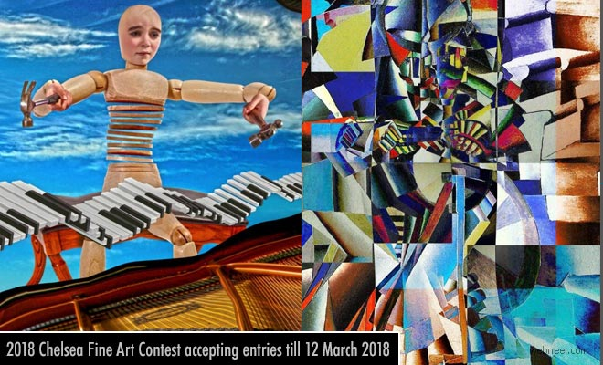 33rd Chelsea Fine Art Contest accepting entries till 12 March 2018