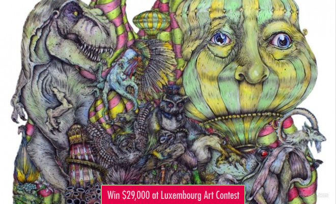 Participate and Win $29000 at Luxembourg Art Contest - entries by 31 May 2018