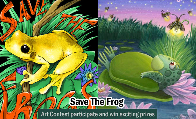 Save the Frogs - Art Contest by Australian Arts organization