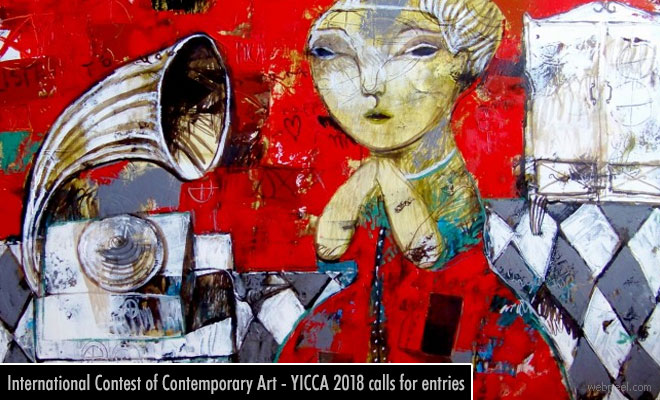 International Contemporary Art Contest YICCA - 14 March 2018