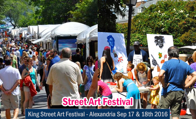 Celebrate USA King Street Art Festival Sep 17 - Washington DC