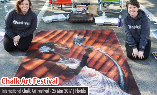 Uptown Chalk Art Festival 2017 - 25 Mar 2017 | Florida