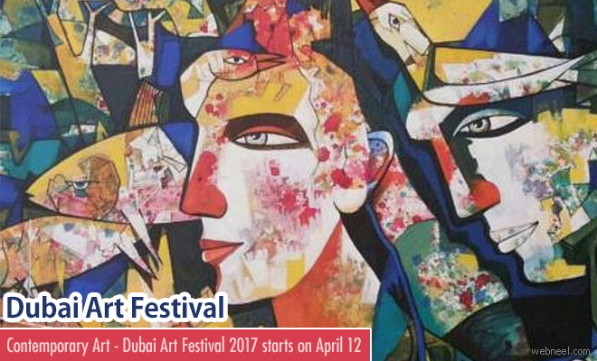 World Art Fair 2017 - Dubai Starts on 12 April 2017