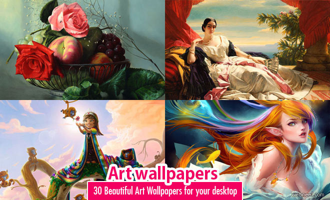 30 Beautiful Art Wallpapers for your desktop - Painting Wallpapers