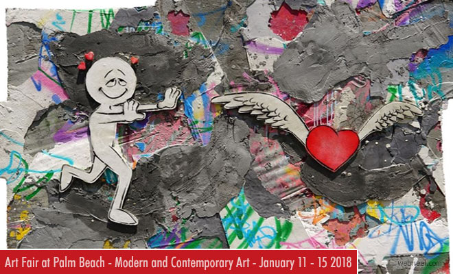 Art fair at Palm Beach - Modern and Contemporary Art Fair - January 11 - 15 2018