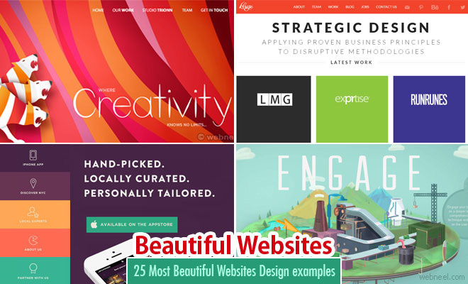 25 Most Beautiful Websites Design examples for your inspiration