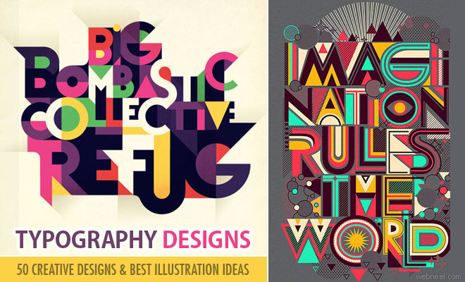 50 Creative Typography Designs and illustrations for your inspiration - Part 3