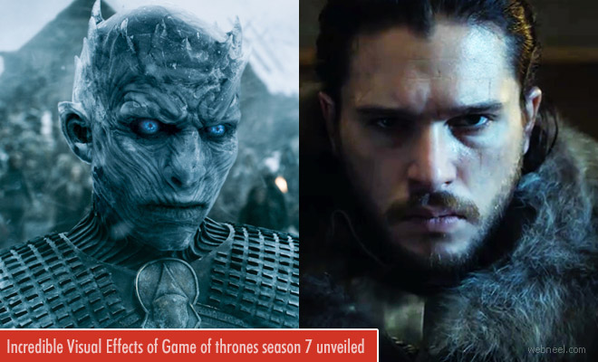 Incredible Visual Effects of Game of thrones season 7 unveiled