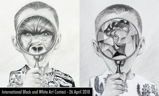 International Black and White Art Contest - Submit your entries 26 April 2018