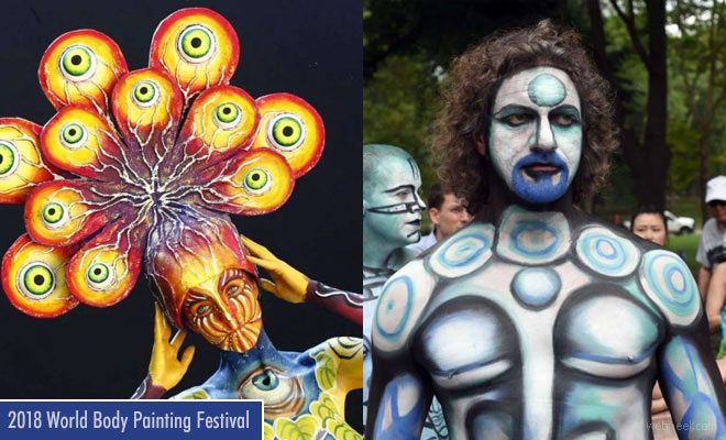 21st World Body Painting Festival 8 - 14 July 2018 in Klagenfurt - Austria