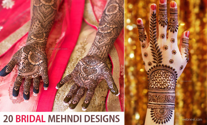 Bridal Mehndi Designs by Darcy Vasudev