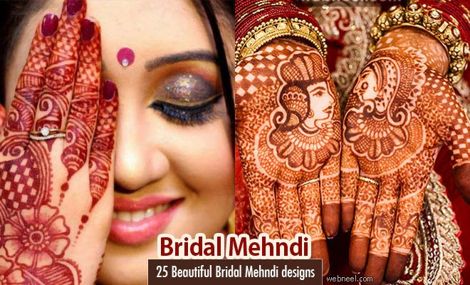 Mehndi Design For Bridal Collection : Beautiful bridal mehndi design inspiration for you